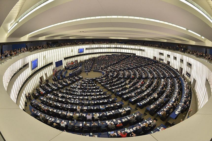 The European Parliament in session last October in Strasbourg, France. The problem of migration has risen to the top of the political agenda. The EU acknowledges that the flow is unsustainable: if nothing is done, a further estimated 1.4 million asyl