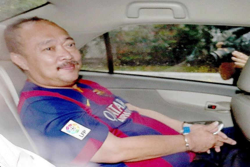 Toh Hock Thiam was charged in court, under the Casino Control Act, with using counterfeit chips at the MBS casino.
