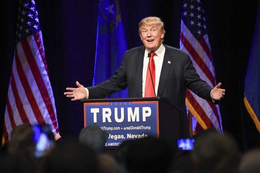 Donald Trump (above) called to ban Muslims from entering the US in his election campaign TV ad.