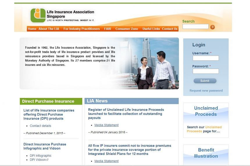 The online register is available on the Life Insurance Association of Singapore website.