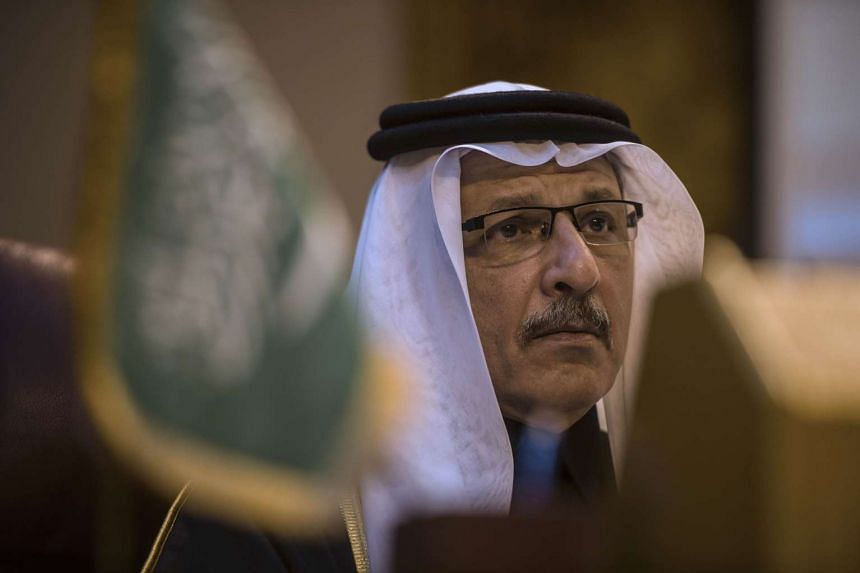 Saudi ambassador to Egypt Ahmed Qattan attends an emergency meeting of the Arab League foreign ministers in Cairo on Dec 24.