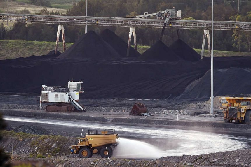 A coal mine in Bulga, the Hunter Valley, north of Sydney. The signing of the Paris climate agreement has fuelled growing debate about whether Canberra should try to actively scale back coal production.