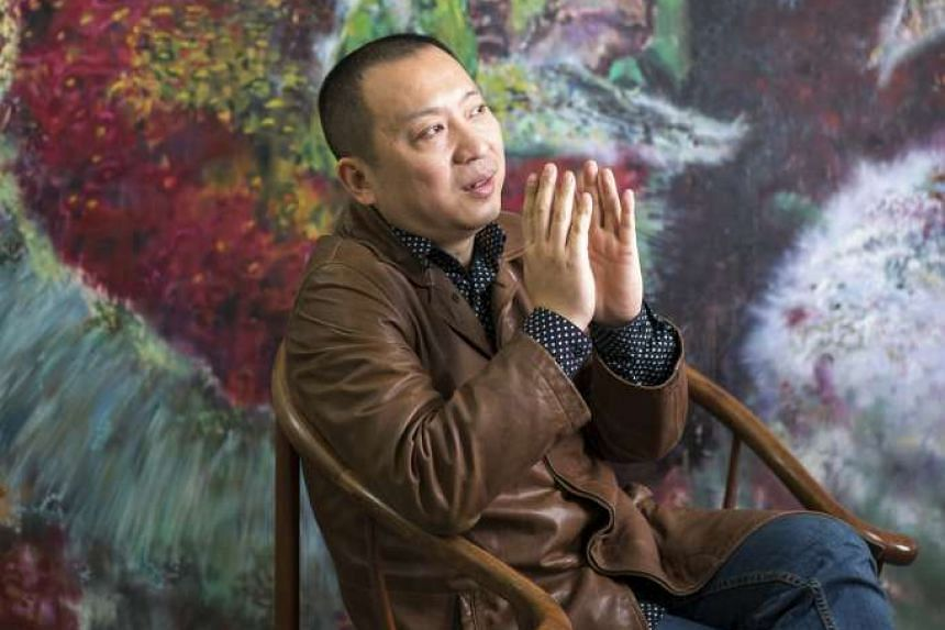 Animation artist Zhang Xiaotao tries to show in his films what the intense pressure to achieve wealth and success in China does to the soul.