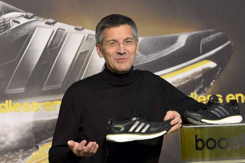 Adidas chief executive officer Herbert Hainer.