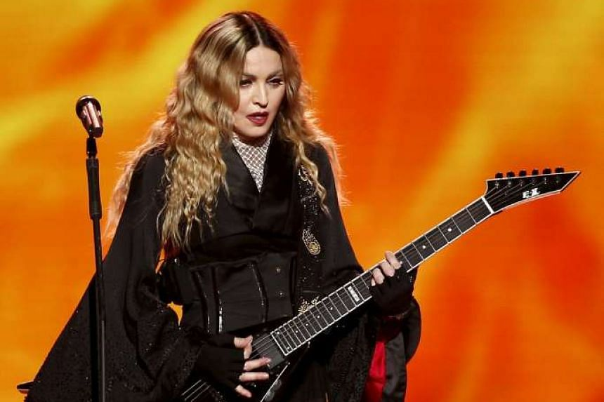 Madonna was banned from performing her controversial Girlie Show World Tour here in 1993.