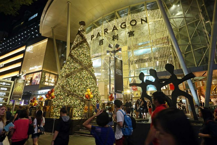 SPH Reit, which manages the Paragon (pictured), saw its gross revenue grow 2.9 per cent in the first quarter.