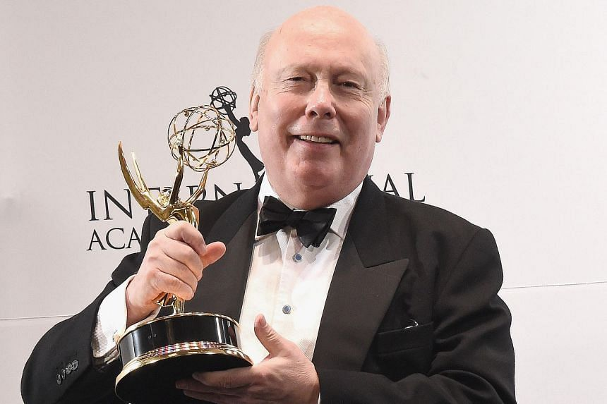 Writer and creator of Downton Abbey Julian Fellowes at the Emmy Awards in New York last November.