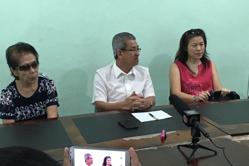 From left: Mdm Lee, Johor Temple Foundation founder Yap Yeen Min and Mrs Cannie Wong at the press conference.