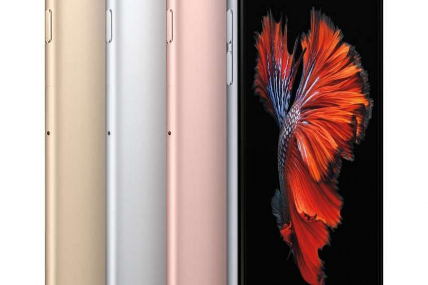 Apple iPhone 6S smartphone.