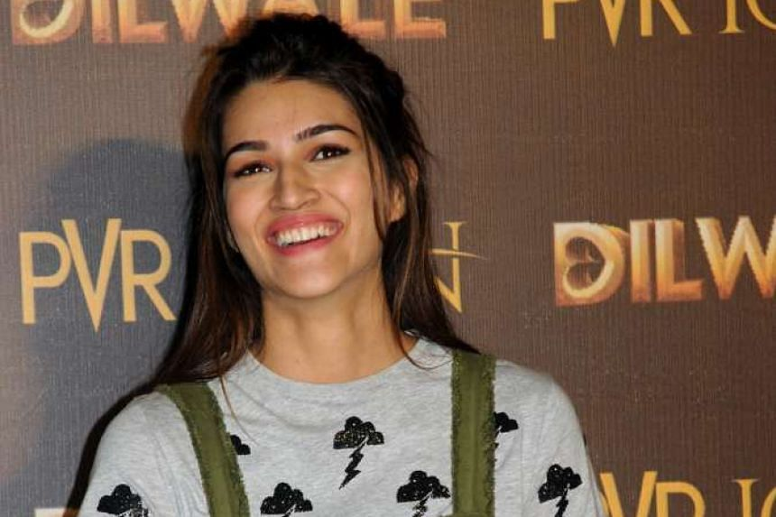 Bollywood actress Kriti Sanon was annoyed when a passenger next to her on a flight started watching a pirated version of her film Diwale.