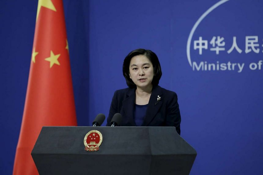 Hua Chunying, spokesman of China's Foreign Ministry, speaks at a regular news conference in Beijing, China, Jan 6, 2016.