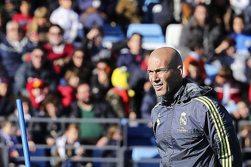 While Zinedine Zidane has excellent playing credentials and is wildly popular at Real, he has limited coaching experience.