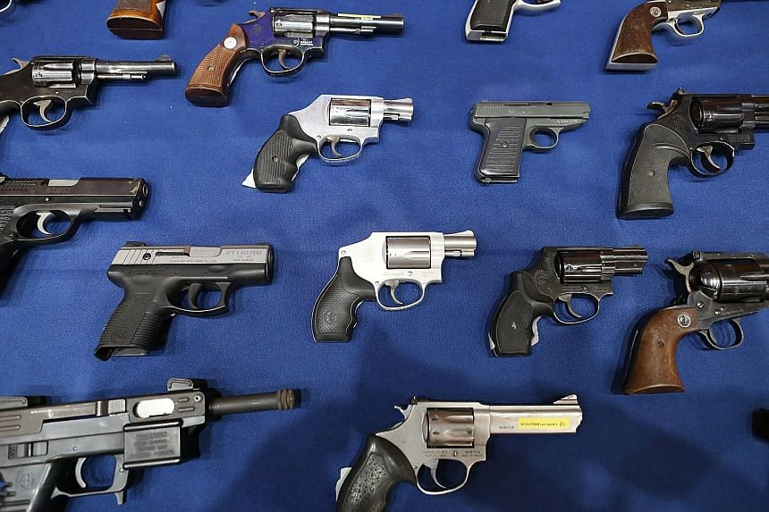 President Barack Obama's gun control package includes new warnings to firearms sellers at gun shows and on the Internet that they could be subject to laws requiring background checks on potential buyers and face prosecution if they do not undertake t