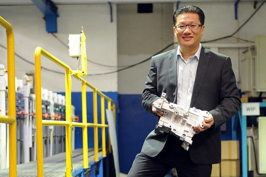 Mr Sia, founder of Applied Total Control Treatment, notes that the company has gone from being a semiconductor-dependent business to being a more advanced manufacturing business serving a wide range of sectors.