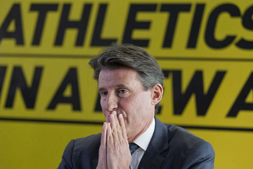 Coe (above) expressed his desire to transform track and field into a clean sport attractive to a younger population.