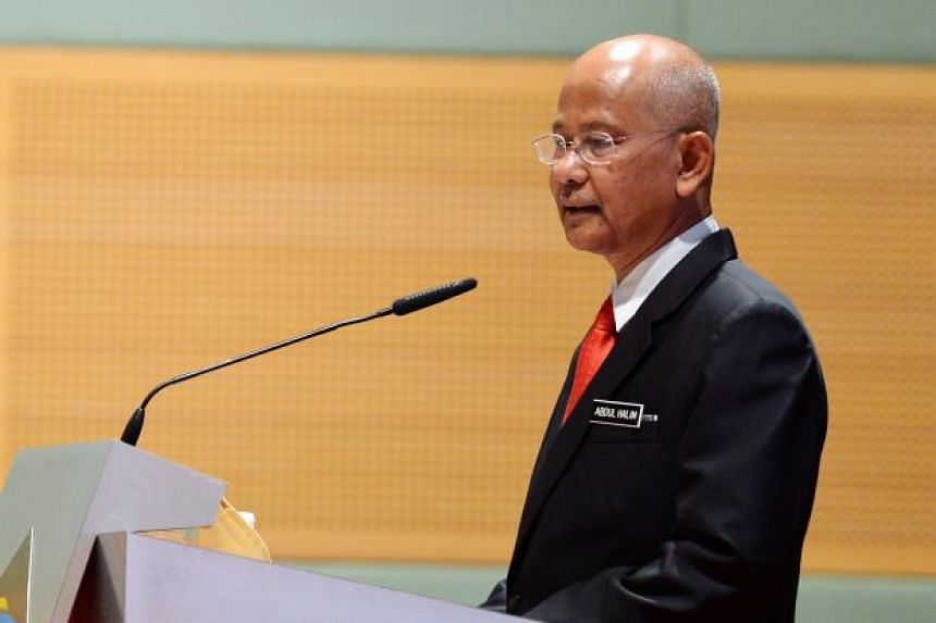 The Malaysian Censorship Board's chairman, Datuk Abdul Halim Abdul Hamid.
