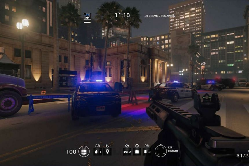 Tom Clancy's Rainbow Six Siege's mission mode offers various operation goals set over a variety of locations, which you have to tackle alone.
