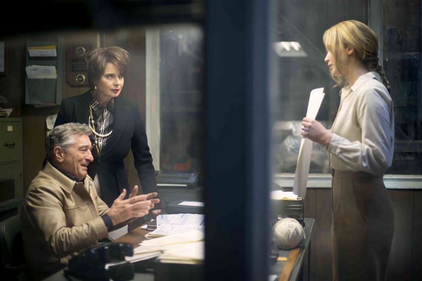 Actors Robert De Niro (left) and Jennifer Lawrence (right) reunite on screen in David O. Russell's new film, Joy.