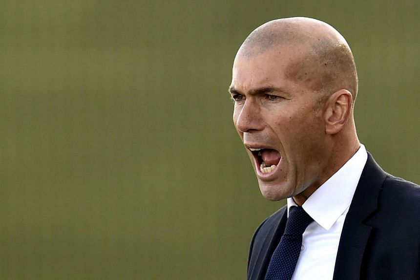 """Zidane (above) """"is only living off his illustrious name as a player"""", says former Bayern Munich boss Ottmar Hitzfeld."""