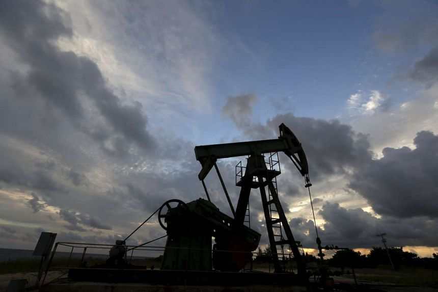 Global benchmark Brent crude prices fell over 3 per cent to US$33 (S$47) per barrel, an 11-year low.