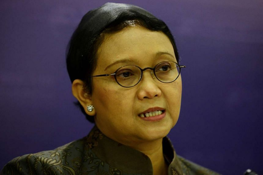 Indonesa's Foreign Minister Retno Marsudi urges Saudi Arabia and Iran to exercise restraint.