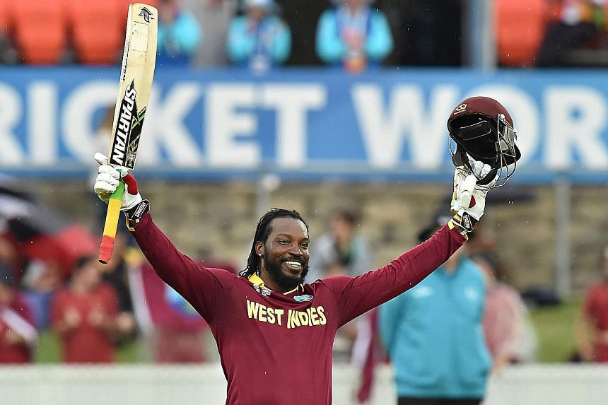 "West Indies batsman Chris Gayle has claimed that his controversial remarks to a female TV reporter during a pitch-side interview was a ""simple joke"" that has been blown ""out of proportion""."