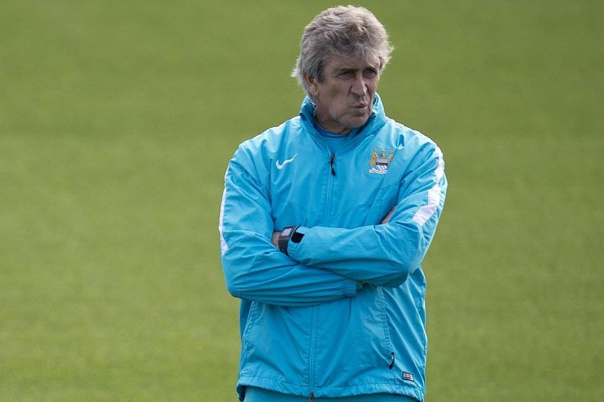 Manchester City manager Manuel Pellegrini has had to deal with talks of Bayern head coach Pep Guardiola taking over his job after this season.