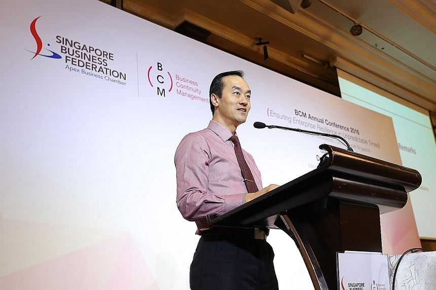 Minister of State Koh Poh Koon said that greater global interconnectivity also made companies more vulnerable to disruptions.