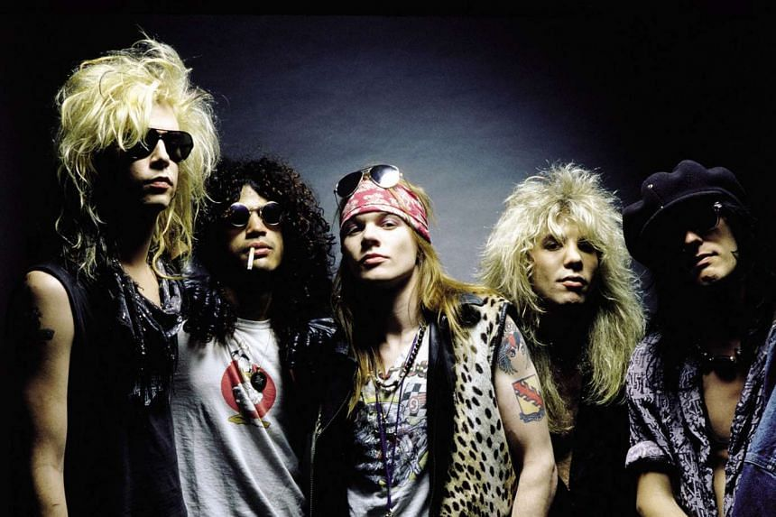Tickets quickly sold out Wednesday for the Coachella music festival where hard rockers Guns N' Roses will reunite after more than two decades.