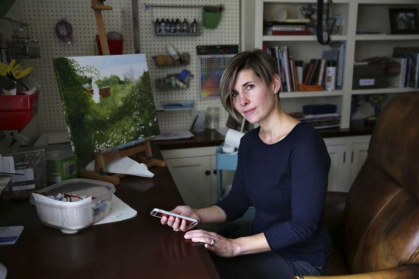 Ms Lisa Libretto, a stay-at-home mum who has little time to shop, says she has been enticed to buy a handbag after her phone alerted her to a discount on it when she was close to a store.