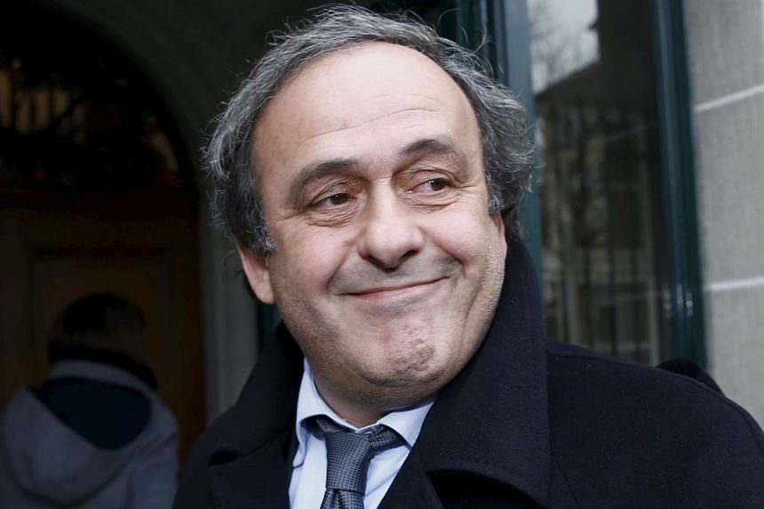 Michel Platini vowed to clear his name of sleaze allegations.