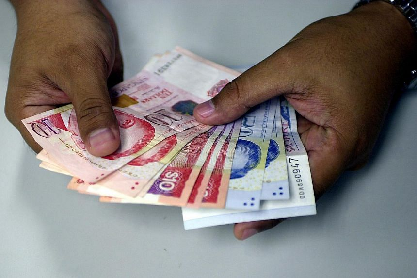 The Singapore dollar has sunk to a six-year low against the US dollar.