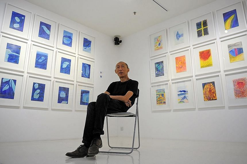Lee Wen (above) was a Cultural Medallion recipient in 2005 for his contribution to Singapore art.
