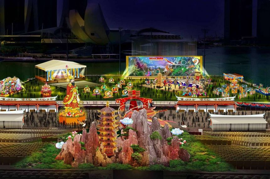 Visitors to the 2016 River Hongbao will be treated to nine nights of close-up fireworks, with accompanying music and lights.