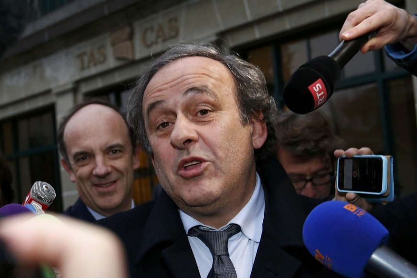 Platini will concentrate on clearing his name instead.