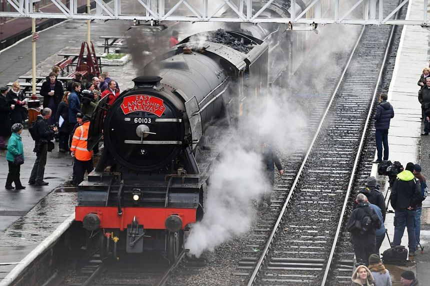 Britain's Flying Scotsman was the first steam locomotive to reach 100 miles per hour (160kmh).