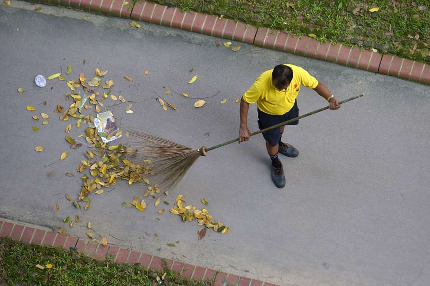 The change can involve residents cleaning up their HDB corridors instead of waiting for cleaners, Mr Masagos said.