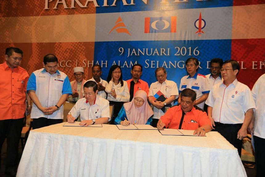 Malaysia's new opposition coalition Pakatan Harapan agreed on a code of conduct on Saturday.