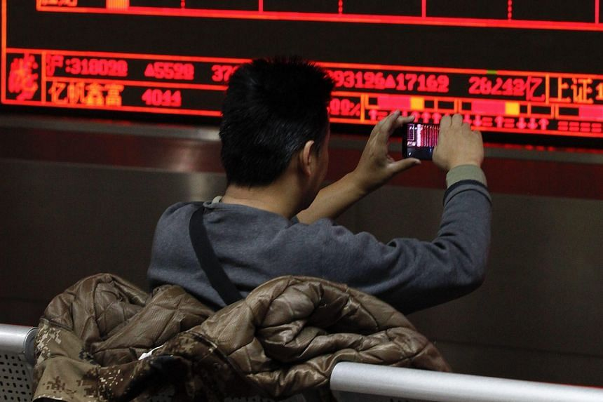 The strong passions ruling the Chinese market were evident from the opening bell, when both the Shanghai Composite Index and Shenzhen Composite Index shot up over 2 per cent within seconds.