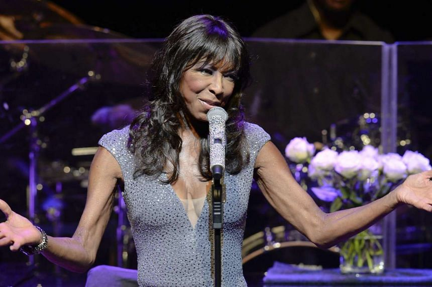 US singer Natalie Cole perfoms on stage in July 2014.