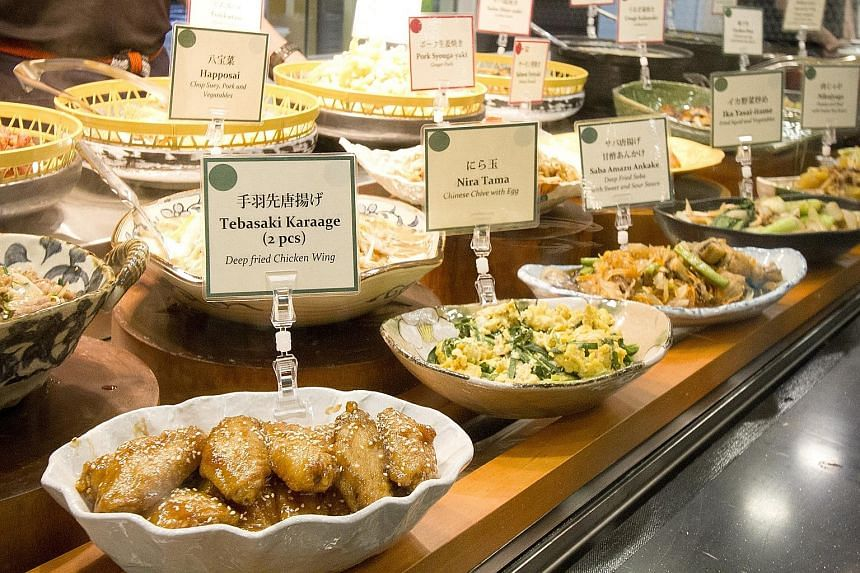 Wasai-Ya's daily menu offers more than 20 dishes.