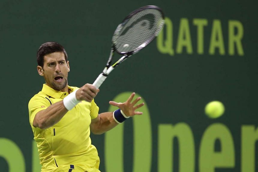 World No. 1 Djokovic cruised to victory in Doha 6-1, 6-2 in a match lasting little more than an hour.