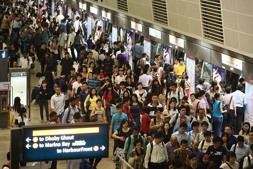 LTA's Travel Smart Rewards programme includes initiatives aimed at easing the public transport crush during peak hours.