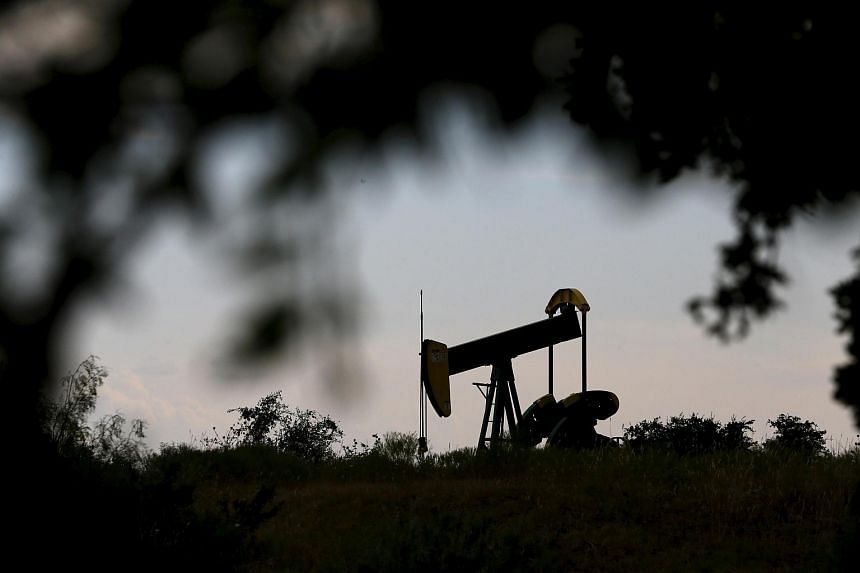 An oil pump jack can be seen in Texas, in this Aug 23, 2015, file photo.