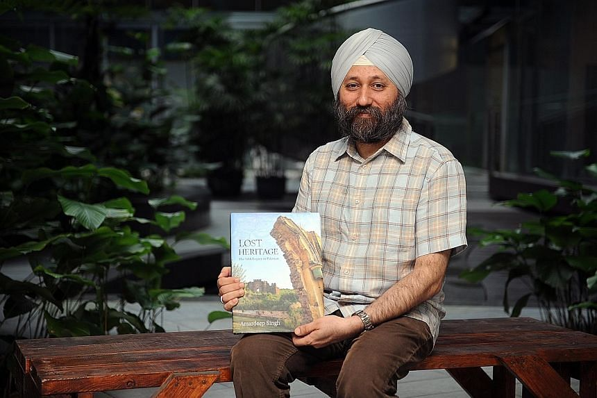 Mr Amardeep Singh, a naturalised Singaporean, spent a year in Pakistan documenting the lost heritage of the Sikh culture. He has published a book, which will be officially launched later this month, filled with photographs and historical anecdotes.