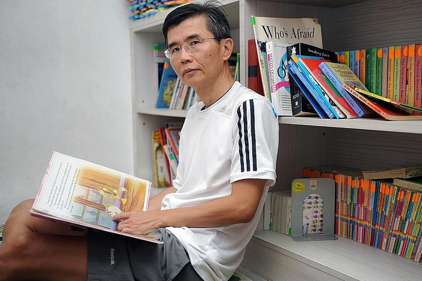 Mr Ang's football games with his son led to him helping at-risk children. He now helms outfits reaching out to youth and former offenders.