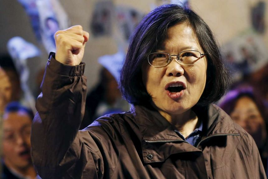 Taiwan's DPP Chairperson and presidential candidate Tsai Ing-wen is well ahead in the polls.