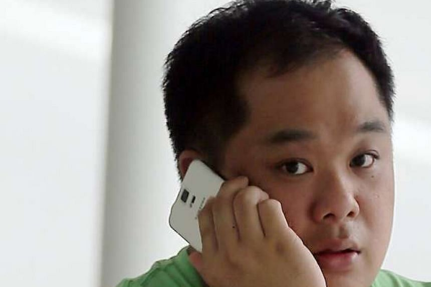 Vincent Ng Hian Gee threatened to expose his trysts with a teacher to the Ministry of Education and the man's school.