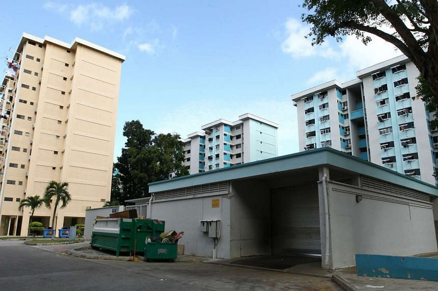 A worker was killed while operating trash compacting machinery at a waste collection centre along Bedok Reservoir Road on Jan 11, 2016.