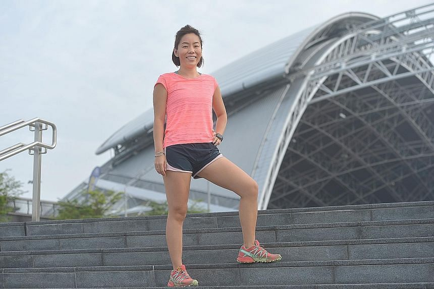 Ms Lee made history as the first Singaporean woman to reach the summit of Mount Everest in 2009, as a member of the Singapore Women's Everest Team. The 33-year-old says she feels restless if she is not active.